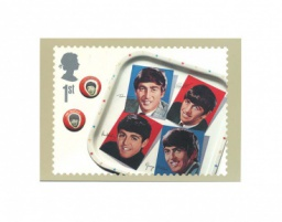 The Beatles «Tea Tray». Изд. Royal Mail Group. Эдинбург, Великобритания 2007 г.