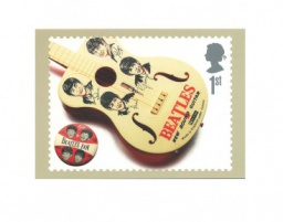 The Beatles «Beatles Guitar». Изд. Royal Mail Group. Эдинбург, Великобритания 2007 г.